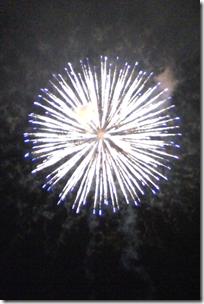 精進湖の花火大会「涼湖祭」