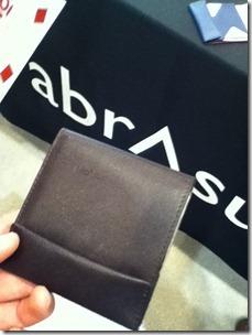 abrAsusの薄い財布