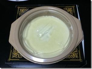 雪印レンジ用チーズフォンデュ