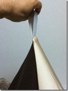 三角型ビーズクッション
