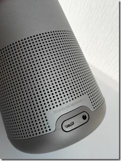 SoundLink Revolve+の入力端子