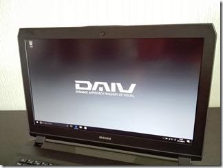 「DAIV-NG5720S1-SH2」のディスプレイ