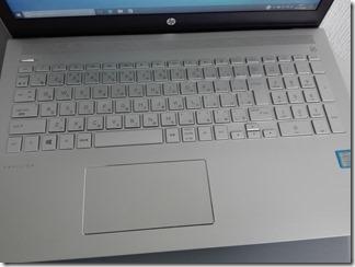 「HP Pavilion 15-cc000」のキーボード