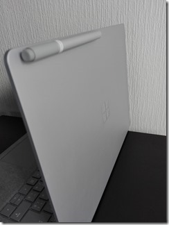 Surface LaptopでSurfaceペンの付くところ