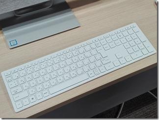 HP Pavilion 24のキーボード