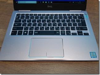 「Inspiron 13 7000」のキーボード