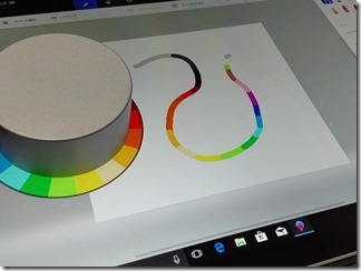 Surface Dial+3Dペイント