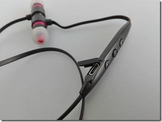 BluetoothイヤホンMFB-E3300のリモコン