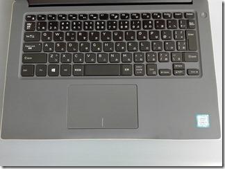 Inspiron 14 7000のキーボード