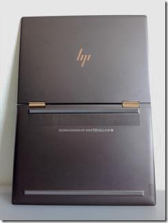 HP Spectre x360 13-ae000天板と裏側