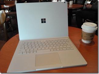 Surface Book 2 のディスプレイを反転