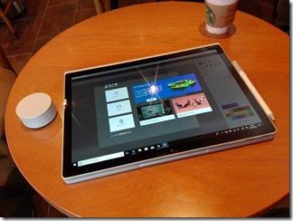 Surface Book 2 のスタジオモード