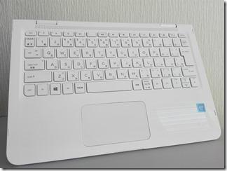 「HP x360 11-ab000」のキーボード