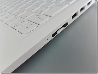 「HP x360 11-ab000」のインターフェイス