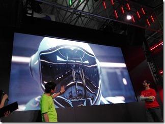 GeForce RTXのデモ