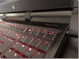 OMEN X by HP 17-ap000シリーズのキーボード右