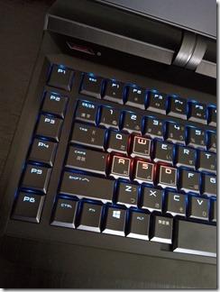 OMEN X by HP 17-ap000シリーズのキーボード左