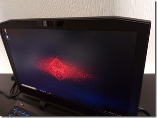 OMEN X by HP 17-ap000シリーズのディスプレイ