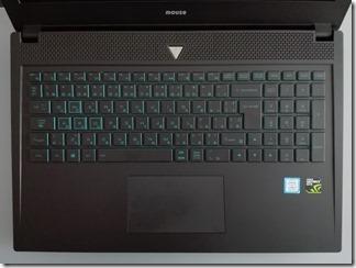 「m-Book T510SN-M2SH2」キーボード