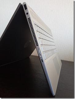 「HP Pavilion x360 14-cd0000」左側面