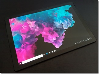 「Surface Pro 6」画面