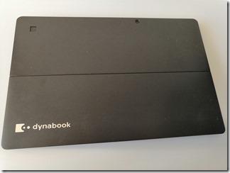 「dynabook DZ83/J」背面